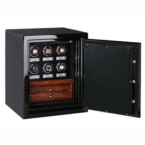 Sapphire in Onyx with Watch Winders and Drawers